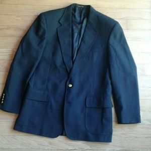 Andhurst navy blazer with gold buttons